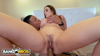 BANGBROS - Busty Cougar Ariella Ferrera Trades Her Pussy For Lil D's Cookie