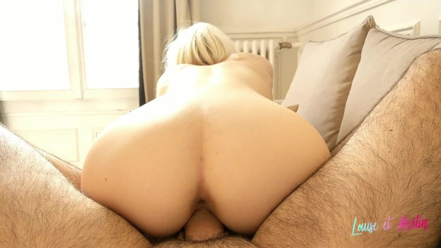 Blonde Threesome Ass Mouth