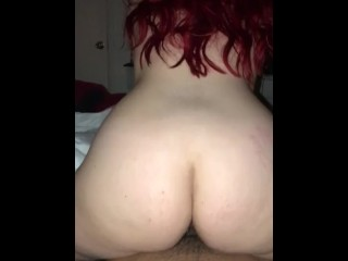 My 19 y/o pawg riding my dick like a champ