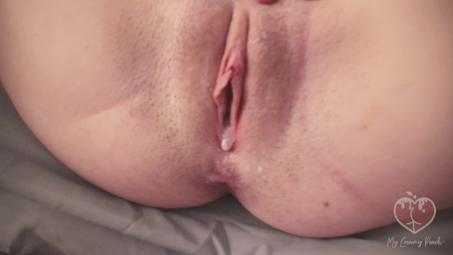 Teen Rubbing Her Tight Pussy