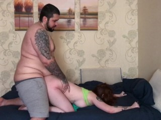 Rough Sex With Redhead On St Patrick's Day