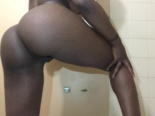YOUNG HOT BLACK GIRL LOVES STRIPPING FOR YOU
