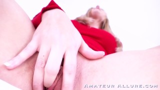 HOT BLONDE SUCKING AND FUCKING TRAILER COMPILATION - AMATEUR ALLURE