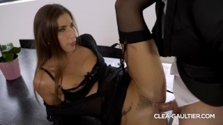 Nice fuck and cumshot for Clea Gaultier