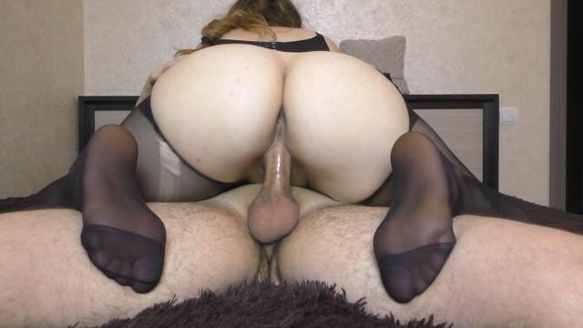 Nylon Feet Smother Pantyhose