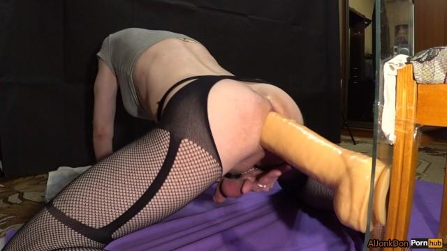 Huge Dildo Butt