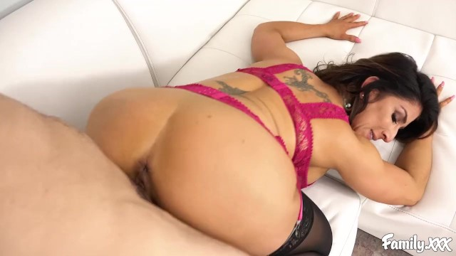 Big Tit MILF Stepmom Needs A Rough Fucking From Her Stepson