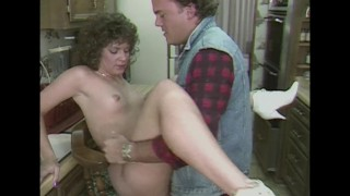 Taking A Fat Cock From The Handyman