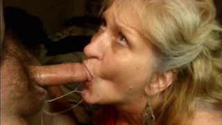 BEAUTIFUL GREEN-EYED MILF GETS A EXTREME FACE FUCK