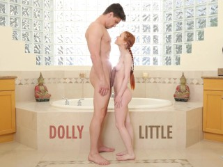 Redhead Teen Dolly Little Gets Ravaged By Bruce Venture