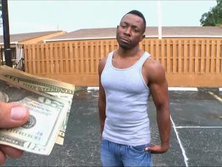 BAIT BUS - Hawt Black Jock Aysfis Gets Tricked Into Having Gay Sex