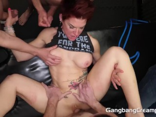 Cock Hungry Swinger Milf Gets all holes filled