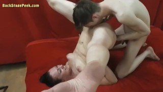Cougar Plays With A boy (Blowjob & Fingering)