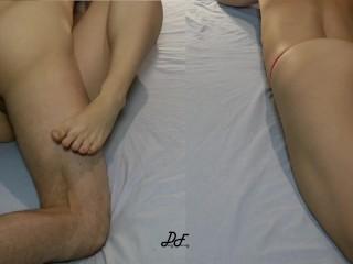 Amateur Fucking Near Masturbating MILF ~DirtyFamily~