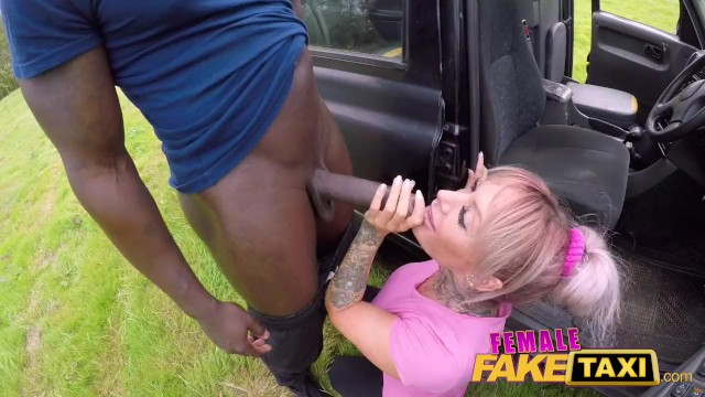 Big Fake Tits Black Cock