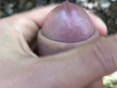 Close up dirty cock and dirty underwear jerking off