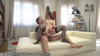 Rocco Siffredi Casting With Nasty Russian Anal Schoolgirls!