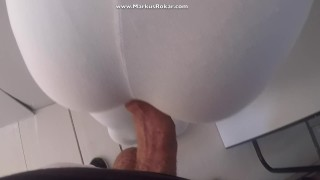 Flashing Dick  and Rubbing on her ass in metro subway