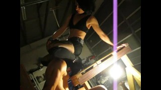 Bitchy Cleo Ballgrabs and Ass-sits Ceasar's Face in Femdom Custom Video