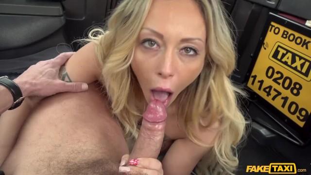 Fake Female Taxi Threesome