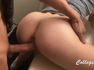 Bathroom Sex at COLLEGE PARTY - CollegeLuv