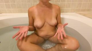 BATH TIME Q & A #2 - ASK MILF STELLA   SEXWITHMILFSTELLA