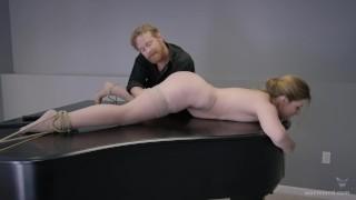 BDSM Sex Movie - Very Unusual Sex On A Piano - Full Scene