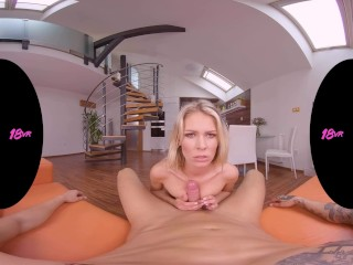 18VR.com Your Morning Wood For Claudia Mac's Tight Asshole