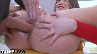 Screen Capture of Video Titled: TUSHYRAW Anal Addicted Asian Wants It Now
