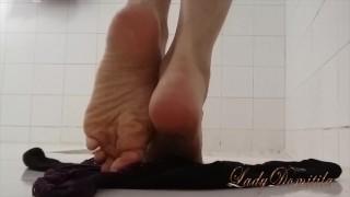Mature Foot Domination