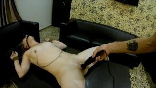BDSM vibrator torture