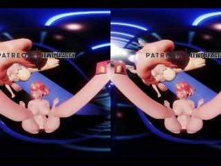 Xenoblade 2 – Pyra & Mytrha Orgy 5K VR HENTAI