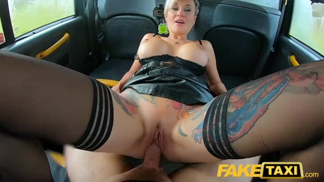 Fake Taxi Blonde Huge Tits