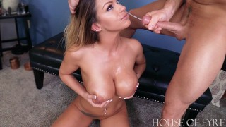 Teacher Gets Taught a Lesson BROOKLYN CHASE & LAZ FYRE