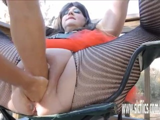 Double fisting and huge insertions amateur BBW bangbros bbw