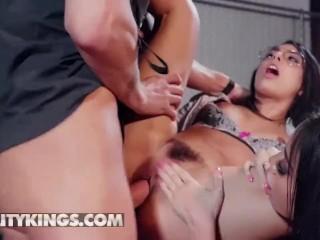 Reality Kings – Two latina Pornstars Gina Valentina & Victoria June share