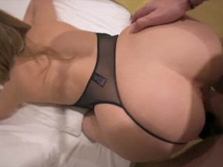 Thick ass roommate wants me in her pussay POV - morningpleasure