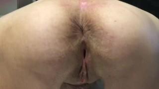 Granny Anal Masturbation