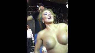 Esperanza Gómez show manoseada