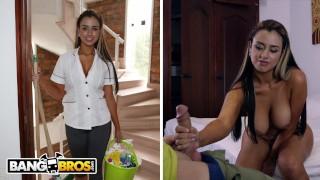 BANGBROS - Big Booty Latin Housekeper Sofia Was Maid In Heaven!