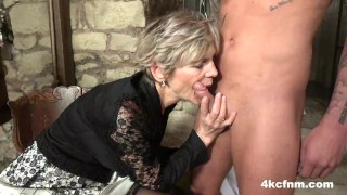StepGranny is the Dungeon Master of Blowjobs