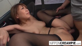 Three Asian cuties get fucked by toys and cocks