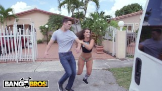 BANGBROS - Latin PAWG Kelsi Monroe Taking Dick From Random Guys