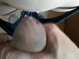 got cum in panties
