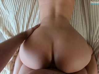 Sexy hot girl  ass bounce on my dick ! ! !