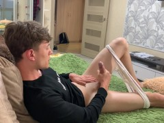 Just Relax and lay with me / Boy / Stroking / Jerking off / Big Dick /