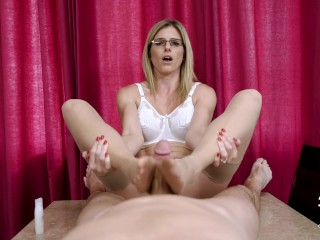 Cory Chase in Hot MILF Teacher must fuck the Principal to Keep her Job