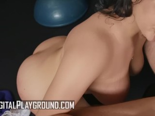 Digital Playground – Extra thicc AliceafterDark gets fucked at the gym