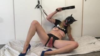 BDSM JOI: Submissive Painslut Slave Beggin Master: PLEASE CUM in my ASS