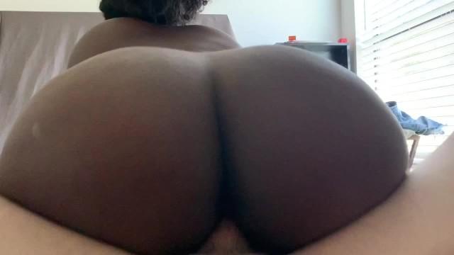 Big Ebony Ass White Dick